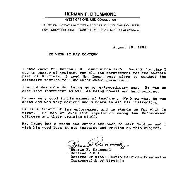Herman Drummond, FBI